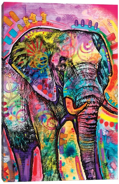 Elephant II Canvas Art Print
