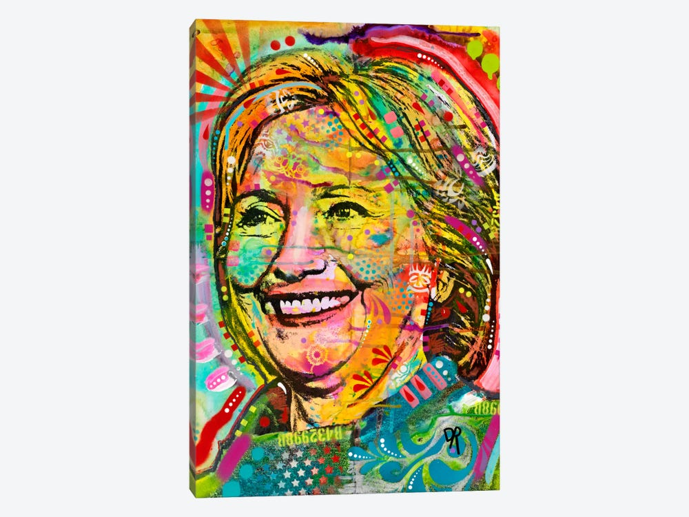 Hillary by Dean Russo 1-piece Art Print