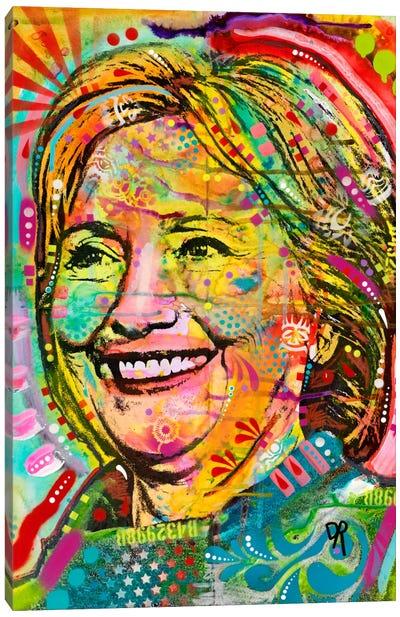 Hillary Canvas Art Print