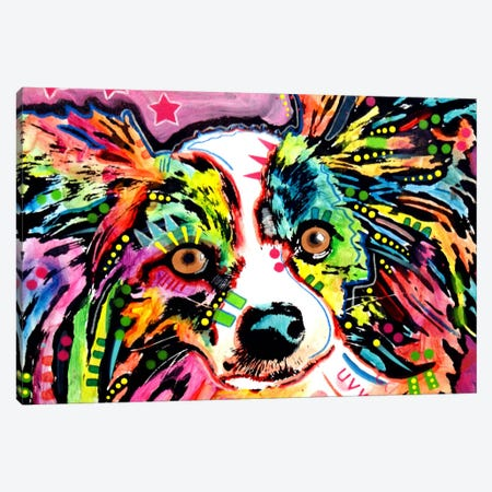 Papillon Canvas Print #DRO29} by Dean Russo Canvas Art