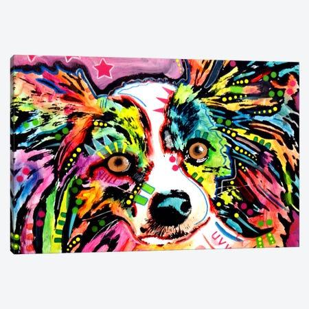 Papillon Canvas Print #DRO29} by Dean Russo Canvas Art