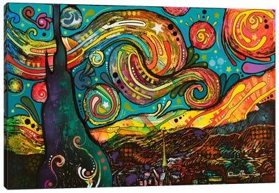 Starry Night Canvas Art Print