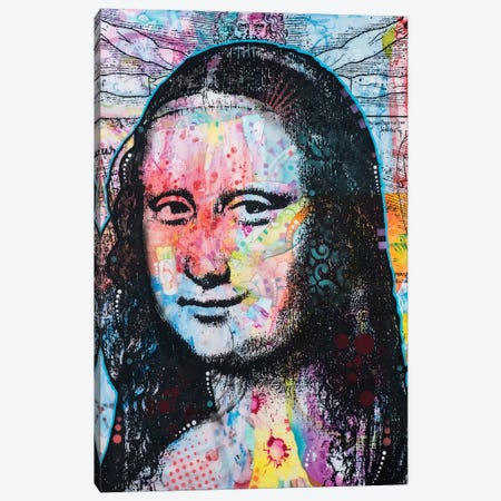 Mona Lisa II Canvas Print #DRO301} by Dean Russo Canvas Art