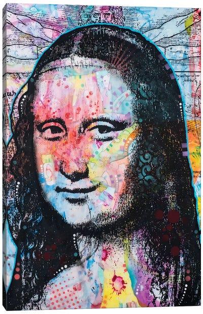 Mona Lisa II Canvas Art Print