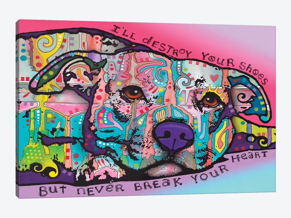 Never Break Your Heart by Dean Russo 1-piece Canvas Art Print