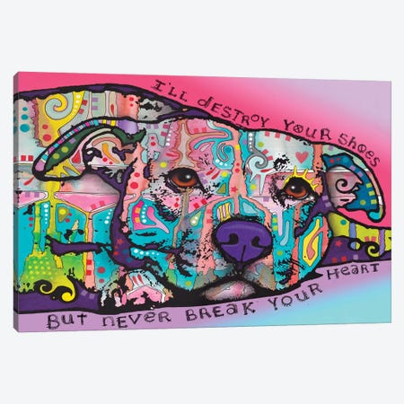 Never Break Your Heart Canvas Print #DRO302} by Dean Russo Canvas Art