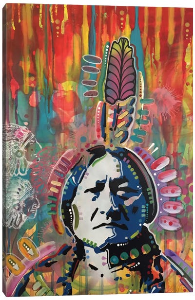 Sitting Bull I Canvas Print #DRO306