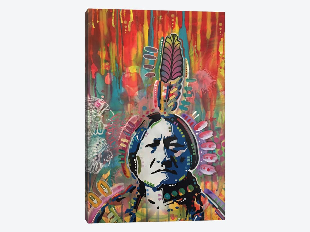 Sitting Bull I by Dean Russo 1-piece Canvas Art Print