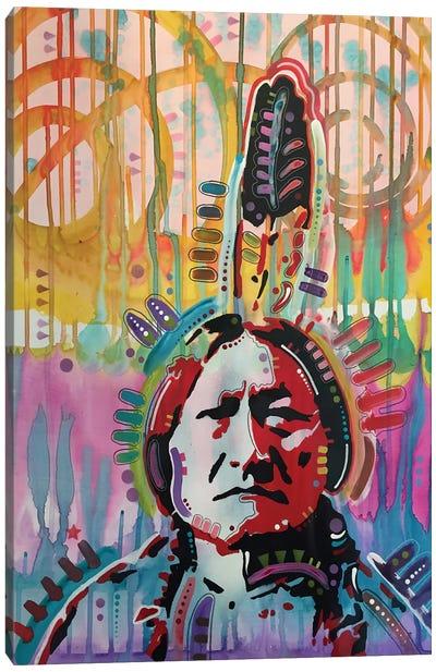 Sitting Bull II Canvas Print #DRO307