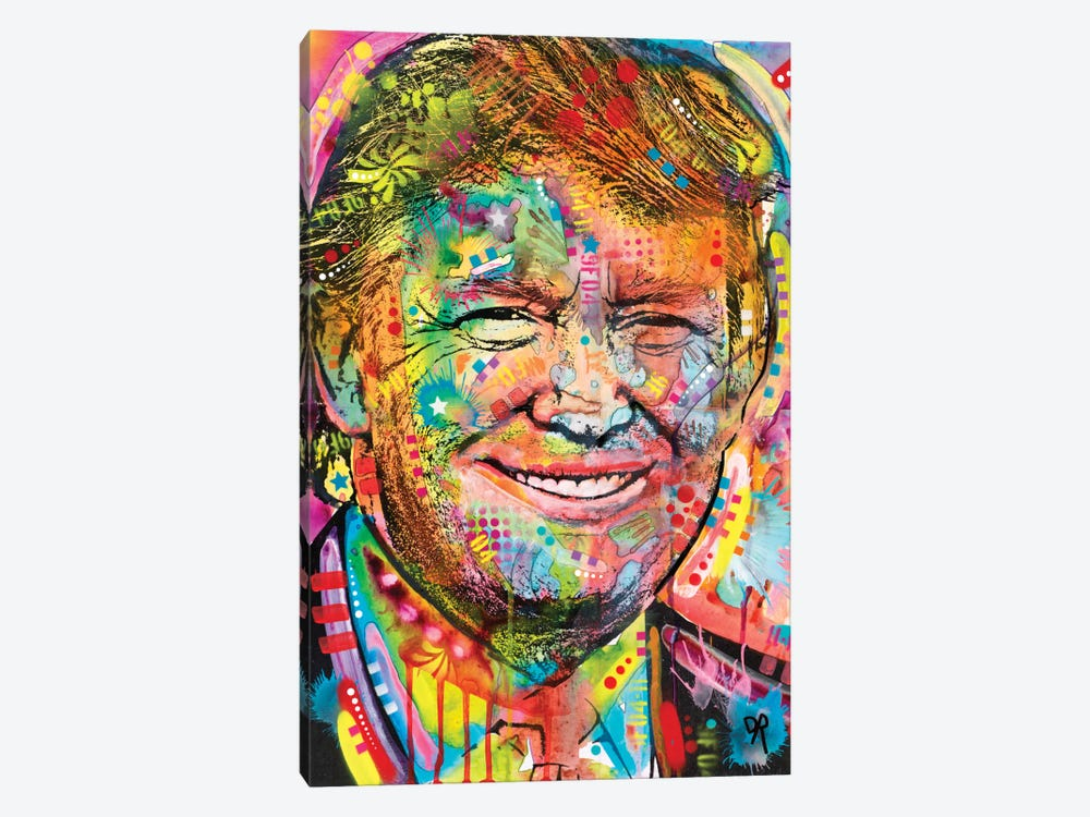 Trump by Dean Russo 1-piece Canvas Art Print
