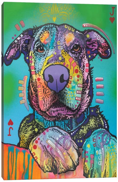 Jack Of Hearts Canvas Art Print