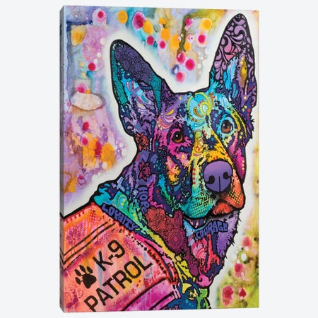 K-9 Patrol III Canvas Print #DRO319} by Dean Russo Canvas Art Print