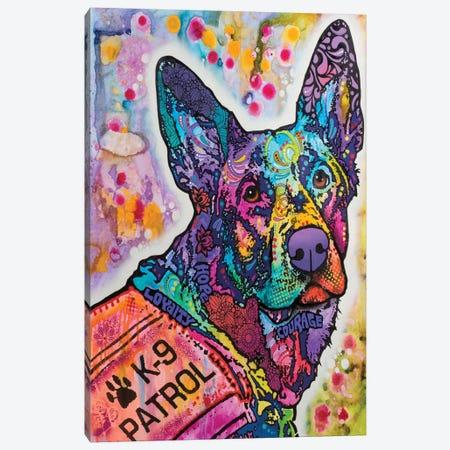 K-9 Patrol III Canvas Print #DRO319} by Dean Russo Canvas Art Print