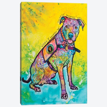 K-9 Patrol V Canvas Print #DRO320} by Dean Russo Canvas Art