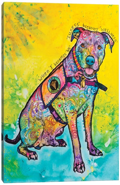 K-9 Patrol V Canvas Art Print