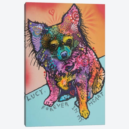 Lucy B. Canvas Print #DRO321} by Dean Russo Canvas Art