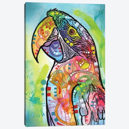 Macaw Canvas Print #DRO322} by Dean Russo Canvas Wall Art