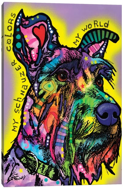My Schnauzer Canvas Print #DRO324