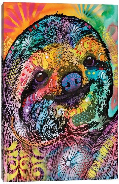 Sloth Canvas Print #DRO329