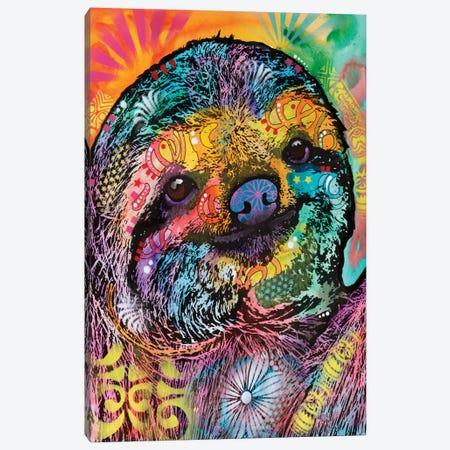Sloth Canvas Print #DRO329} by Dean Russo Canvas Art