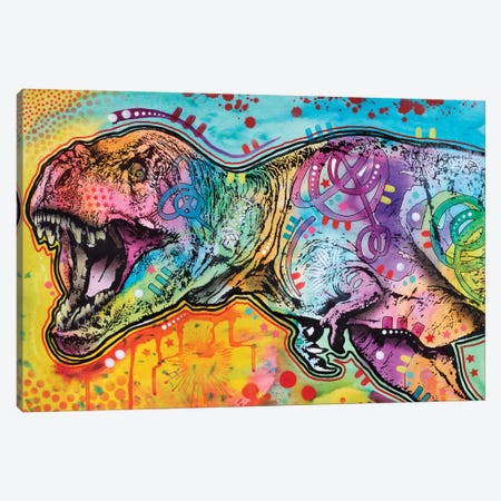 T-Rex II Canvas Print #DRO335} by Dean Russo Canvas Wall Art