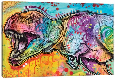 T-Rex II Canvas Art Print