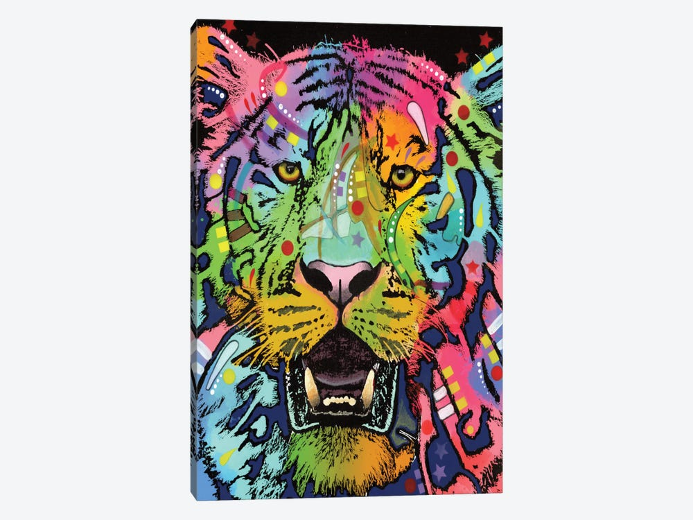 Wild by Dean Russo 1-piece Canvas Art Print