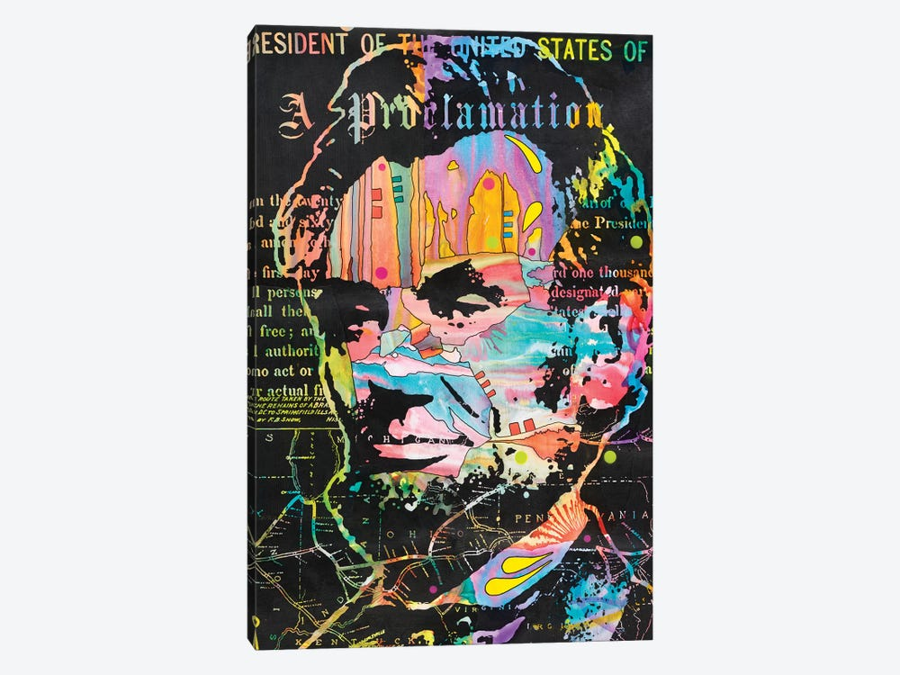 Abe's Proclamation by Dean Russo 1-piece Art Print