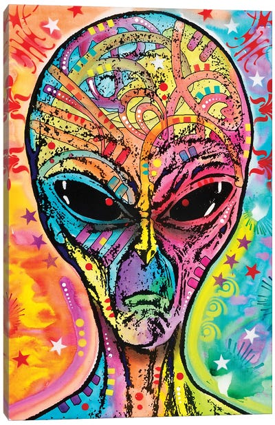 Alien - Far Out Canvas Art Print