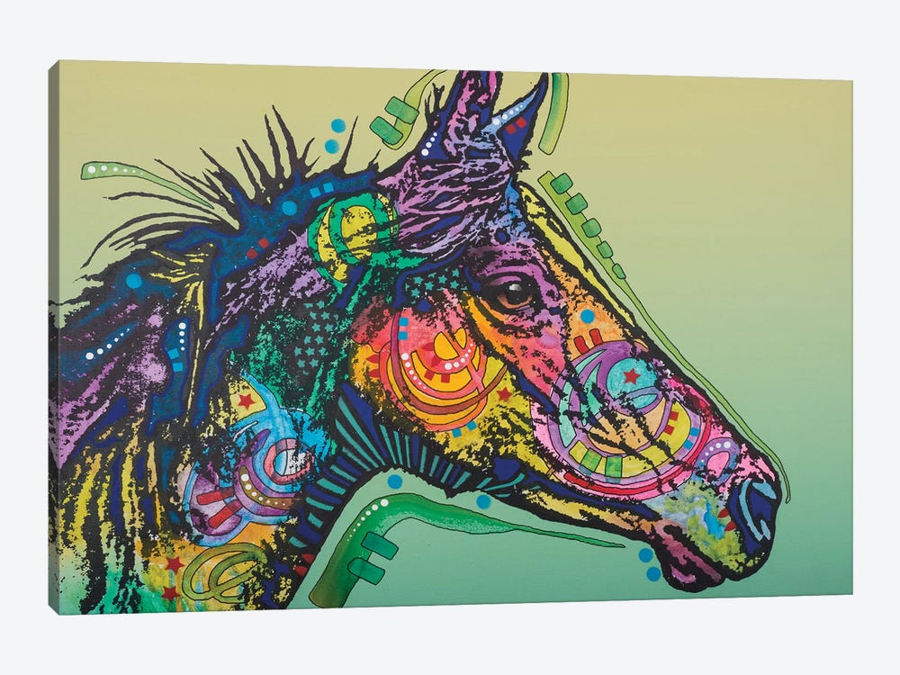 Basha, Horse by Dean Russo 1-piece Canvas Artwork