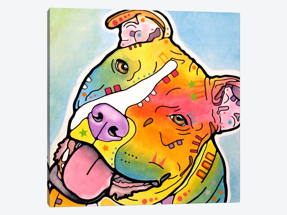 Skittles by Dean Russo 1-piece Canvas Artwork
