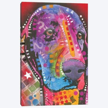 Basset Hound Canvas Print #DRO350} by Dean Russo Canvas Print
