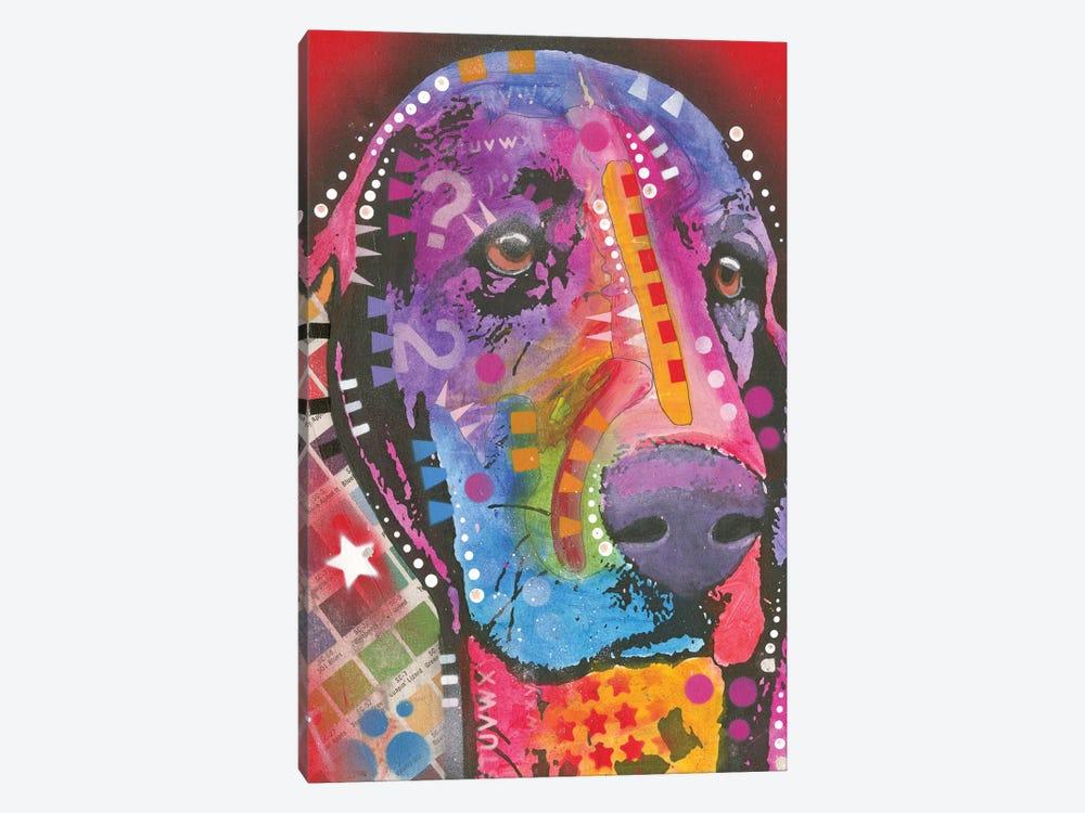 Basset Hound by Dean Russo 1-piece Canvas Artwork