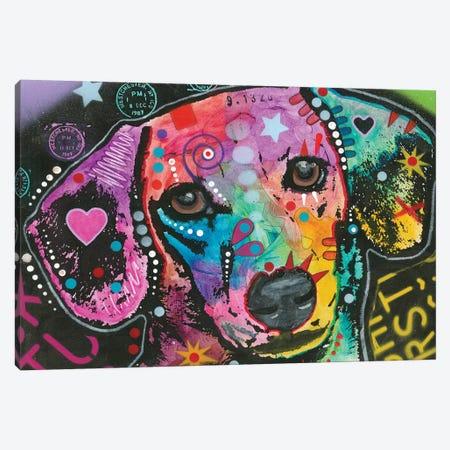 Beagle Canvas Print #DRO351} by Dean Russo Art Print
