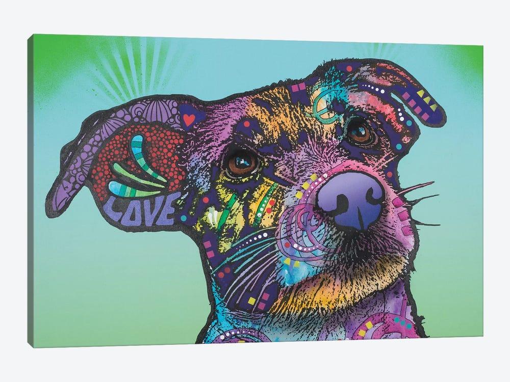 Beaker, Jack Russell Terrier by Dean Russo 1-piece Canvas Artwork