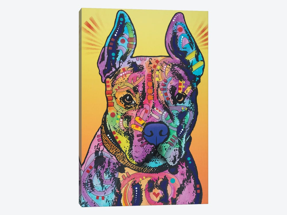 Bugsy, French Bulldog by Dean Russo 1-piece Art Print