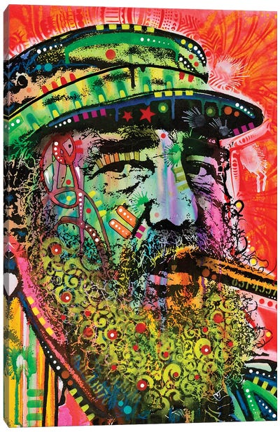 Castro Canvas Art Print