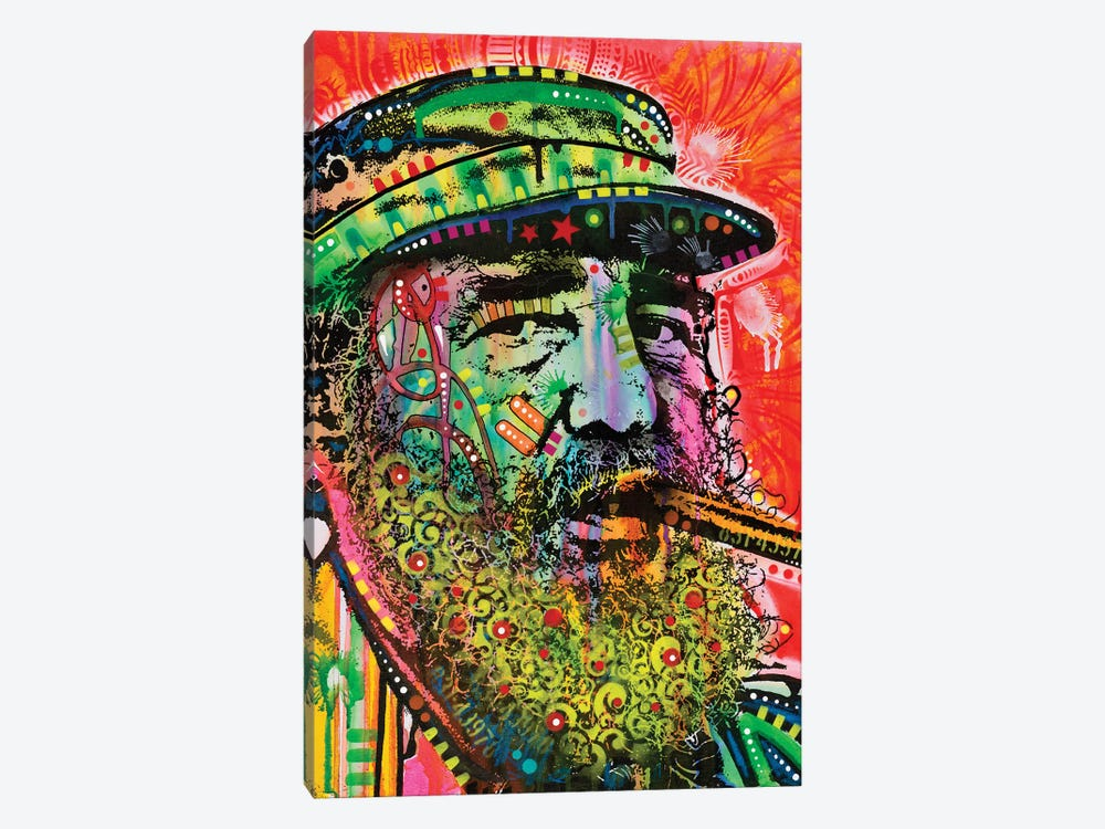 Castro by Dean Russo 1-piece Canvas Art Print