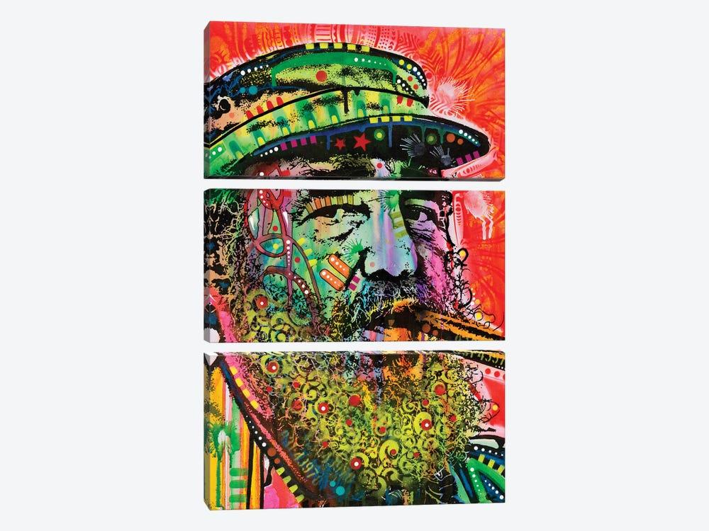 Castro by Dean Russo 3-piece Canvas Art Print