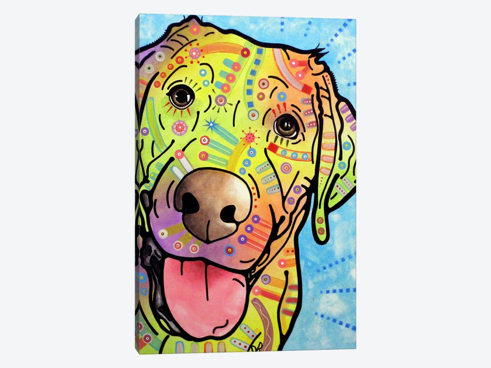 Sunny by Dean Russo 1-piece Canvas Art