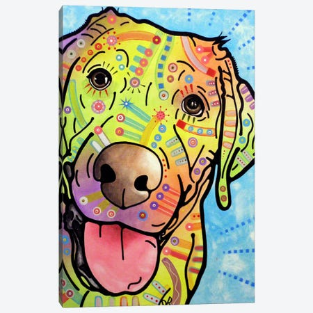 Sunny Canvas Print #DRO36} by Dean Russo Canvas Art