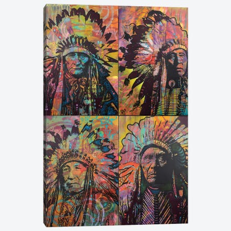 Chief's Quadrant Canvas Print #DRO370} by Dean Russo Canvas Print