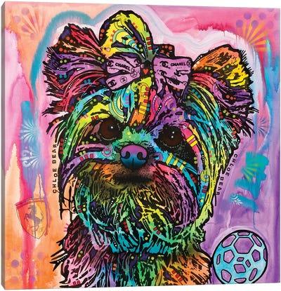 Chloe Bear Canvas Art Print