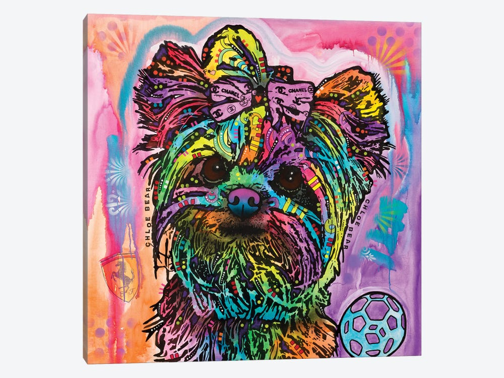 Chloe Bear by Dean Russo 1-piece Art Print