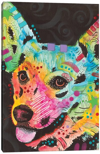 Corgi I Canvas Art Print