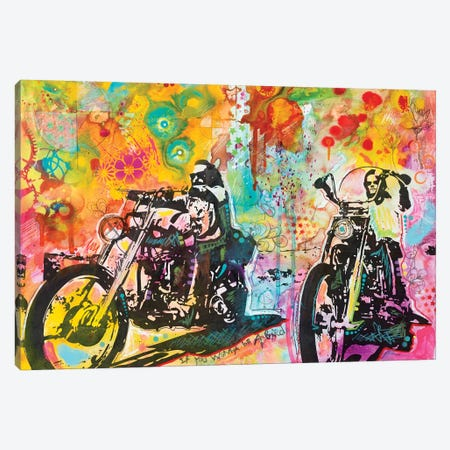 Easy Rider Canvas Print #DRO385} by Dean Russo Canvas Art Print