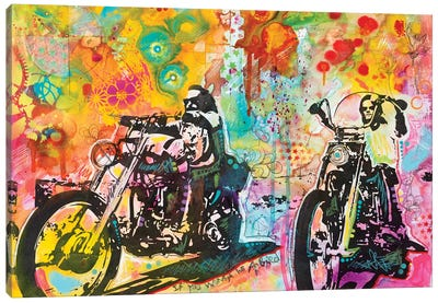 Easy Rider Canvas Art Print