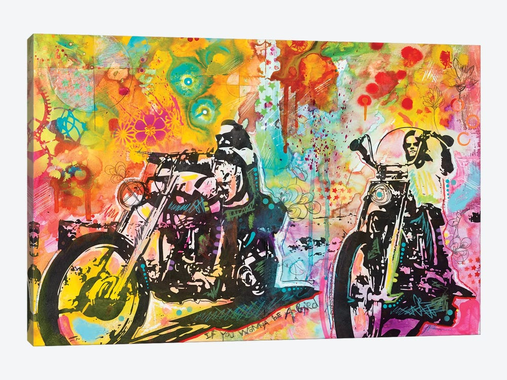 Easy Rider by Dean Russo 1-piece Canvas Wall Art