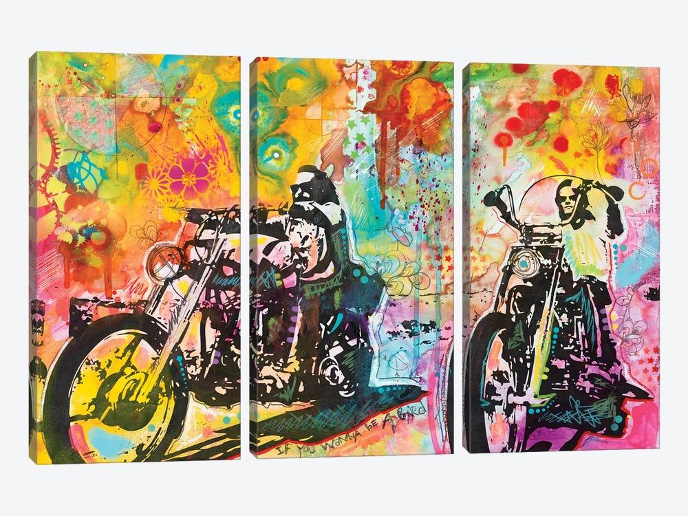 Easy Rider by Dean Russo 3-piece Canvas Artwork