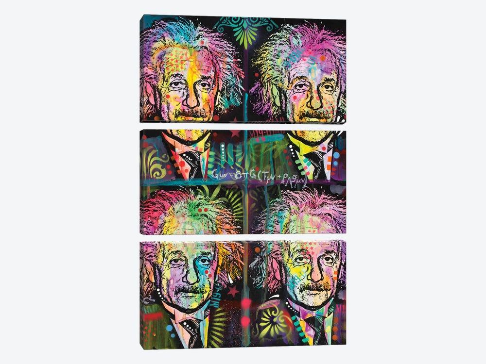 Einstein 4 Up by Dean Russo 3-piece Art Print